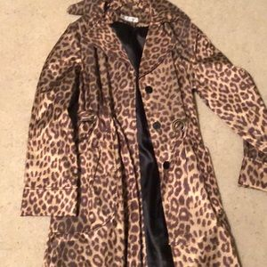 Preston and York leopard raincoat